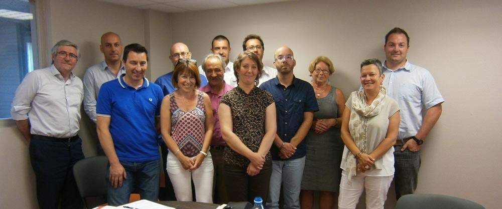 L'équipe de Mécèn'Ardèche